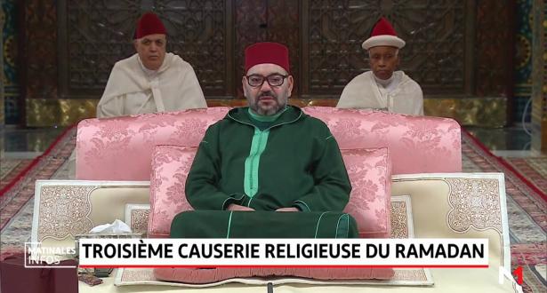 Amir Al Mouminine, préside la 3ème causerie religieuse du mois sacré de Ramadan