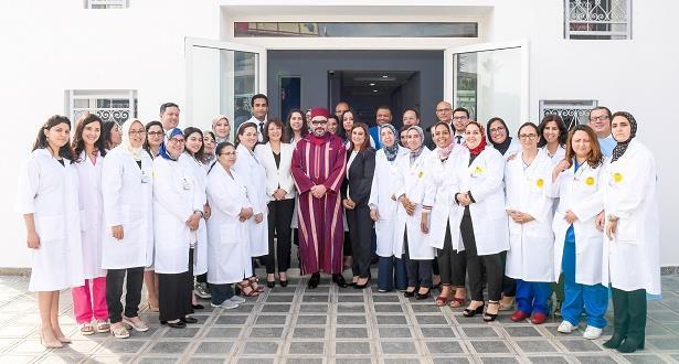 الملك محمد السادس يدشن بالرباط المركز الجهوي لعلاجات الفم والأسنان