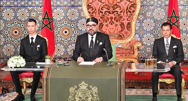 Le Roi Mohammed VI adresse un discours à la Nation à l'occasion du 44-ème anniversaire de la Marche verte (texte intégral)