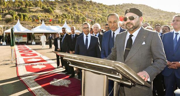 Le Roi Mohammed VI inaugure à Essaouira des projets hydrauliques, hydro-agricoles et d'eau potable