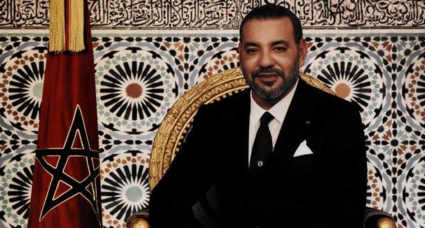 Le Roi Mohammmed VI reçoit au Palais Royal de Fès les cinq membres du Conseil supérieur du Pouvoir Judiciaire