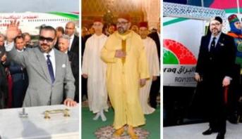 """صحيفة """"الشرق الأوسط"""" تسلط الضوء على الإنجازات التي حققها المغرب بقيادة الملك محمد السادس"""