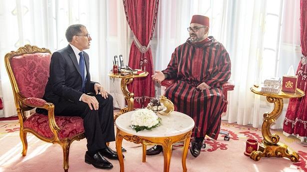 بلاغ .. الملك محمد السادس يستقبل رئيس الحكومة سعد الدين العثماني