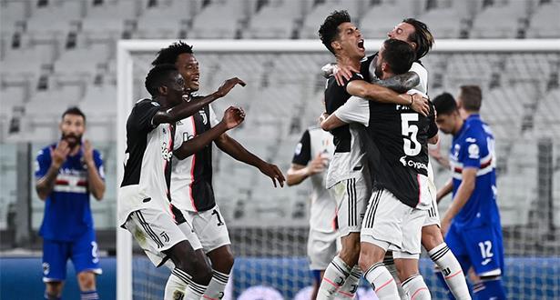 رونالدو يهدي لقبه الثاني للمتضررين من كورونا وساري سعيد بلقب أول في الدوري