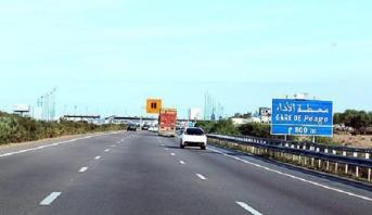 انقطاع حركة المرور على مستوى الطريق الجهوية رقم 509 الرابطة بين لخلافة وإيساكن