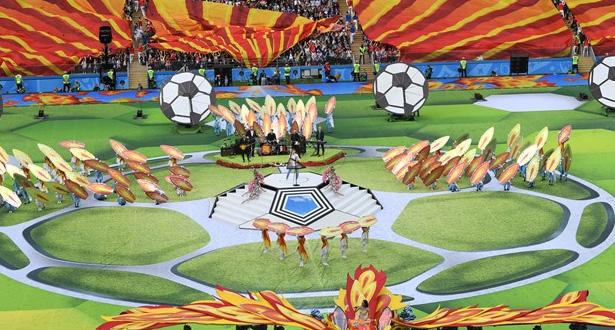 Russie: cérémonie d'ouverture du Mondial 2018
