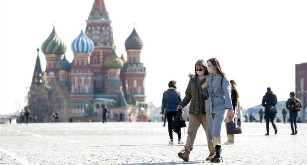 روسيا تسجل أكثر من 10000 إصابة جديدة بكورونا في يوم واحد
