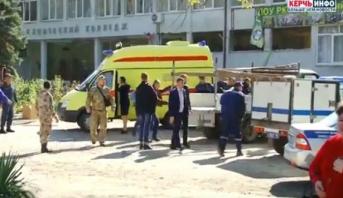 """Crimée: au moins 13 morts dans un """"acte terroriste"""" dans un collège"""