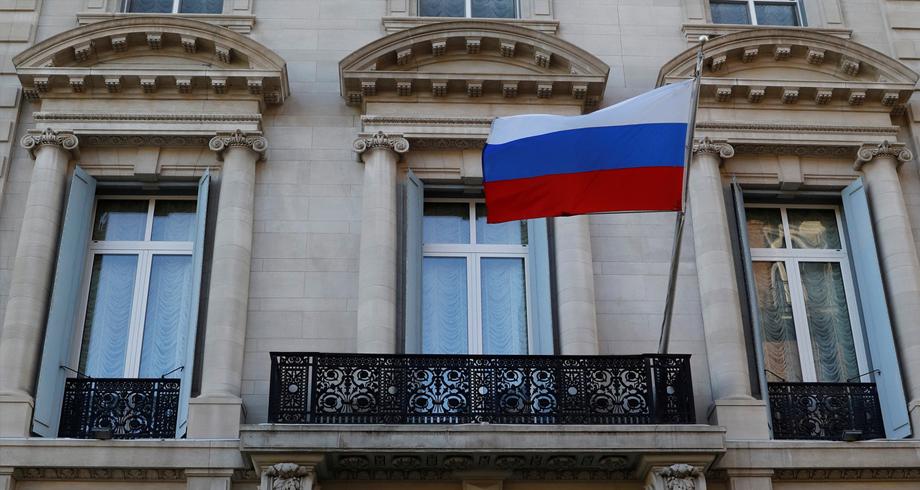 القنصلية الروسية في نيويورك تتعرض لأعمال تخريب