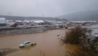 مصرع 12 شخصا على الأقل جراء انهيار سد بإقليم كراسنويارسك الروسي