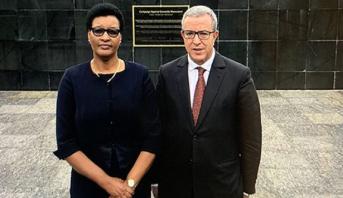 رئيسة البرلمان في جمهورية رواندا تشيد بالتزام المغرب الفعال من أجل شراكة استراتيجية مع بلادها
