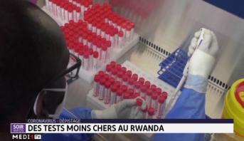 Dépistage du Covid-19: des tests moins chers au Rwanda