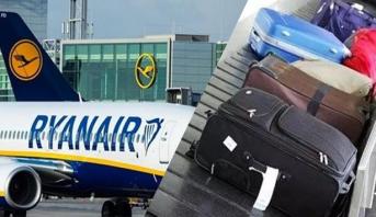 """بسبب حقائب الركاب .. إيطاليا تغرم شركتي طيران """"ريان أير"""" و """"ويز أير"""""""