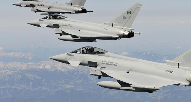 """التحالف يدمر 5 طائرات """"مسيرة"""" أطلقها الحوثيون تجاه السعودية"""