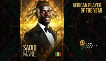 رسميا .. ماني أفضل لاعب في إفريقيا سنة 2019