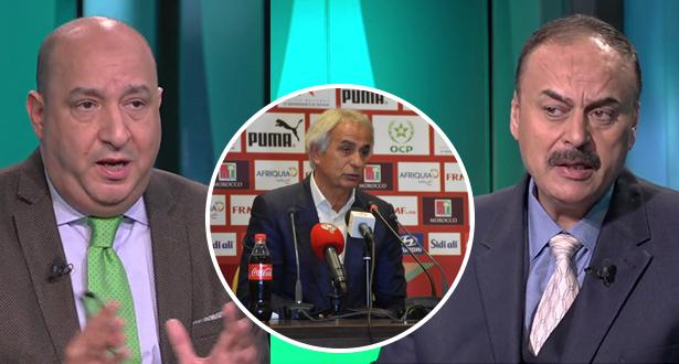 جدل بين الحناوي والصحابي بسبب تصريحات هاليلودزيتش حول اللاعب المحلي