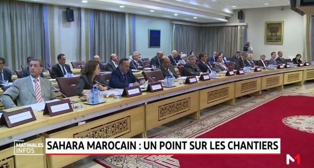 Sahara marocain: un point sur les chantiers