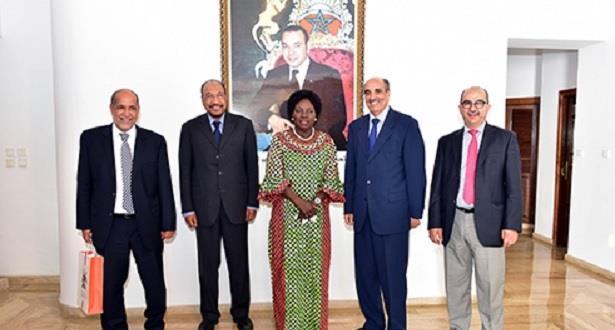 La question du Sahara marocain au centre d'un entretien entre Khalihenna Ould Errachid et la Présidente du parlement ougandais