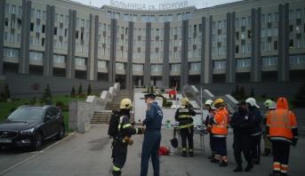 """""""كوفيد-19 """" : مصرع خمسة أشخاص في حريق بمستشفى بمدينة سان بطرسبروغ"""
