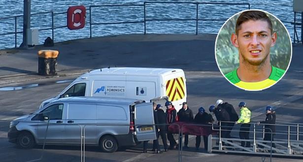 Le corps récupéré dans l'épave est celui d'Emiliano Sala (police)
