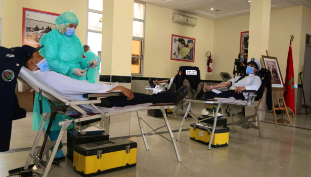 Coronavirus: les policiers de Casablanca font don de leur sang pour pallier à la pénurie