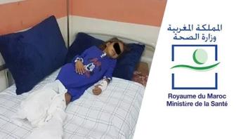 وزارة الصحة تتكفل بمصاريف علاج واستشفاء طفلة تعاني مرضا لازمها منذ ولادتها