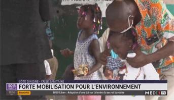 Côte d'Ivoire-Crise sanitaire: forte mobilisation pour l'environnement