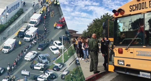 قتيل وستة مصابين في إطلاق نار بمدرسة في ولاية كاليفورنيا الأمريكية