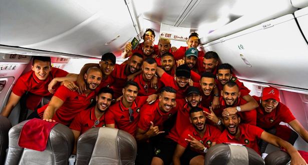 """بالصور .. """"الأسود"""" يشدون الرحال إلى القاهرة"""