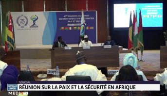 Sénégal: réunion sur la paix et la sécurité en Afrique