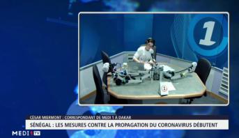 Sénégal : les mesures contre la propagation du coronavirus débutent