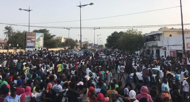 Sénégal: scènes de liesse à Dakar après la qualification des Lions de la Teranga en finale