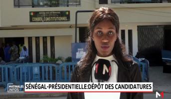 Présidentielle au Sénégal: dépôt des candidatures