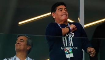 انتقاد صريح وقوي من الأسطورة مارادونا تجاه مهاجم المنتخب الأرجنتيني