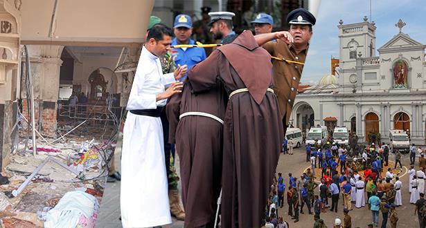 Série d'explosions au Sri Lanka: le bilan grimpe à 158 morts