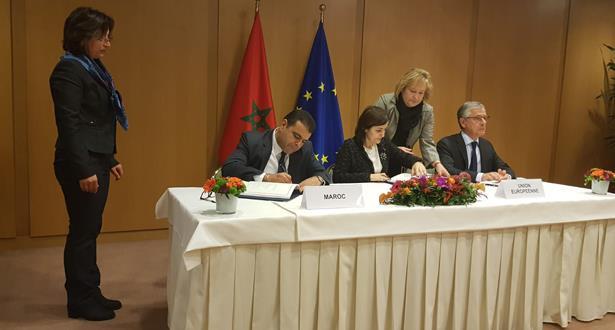 التوقيع ببروكسل على اتفاق الصيد البحري بين المغرب والاتحاد الأوروبي