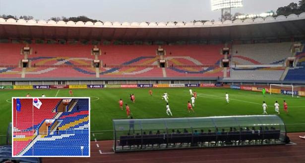 إنفانتينو يعرب عن خيبة الأمل لإقامة مباراة الكوريتين بدون جمهور وبث مباشر