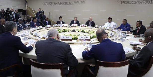 """Sommet Russie-Afrique: une déclaration finale qui jette les bases d'un partenariat """"équitable et multiforme"""""""