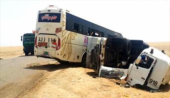 مصرع 43 شخصا وإصابة 31 آخرين في حادثة سير غرب السودان