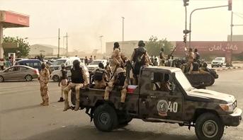 إطلاق نار كثيف في قاعدتين لقوات الأمن في الخرطوم