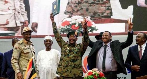 السودان .. تشكيل مجلس سيادي لقيادة المرحلة الانتقالية