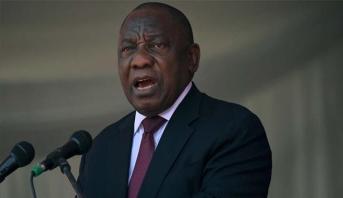 """رئيس جنوب افريقيا يقر بأن الوضع الأمني ببلاده """" سيئ للغاية"""""""