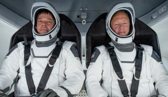 NASA: le vol habité de SpaceX maintenu... pour le moment