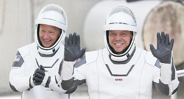 """عودة رائدي فضاء من محطة الفضاء الدولية في مركبة """"سبايس إكس"""""""