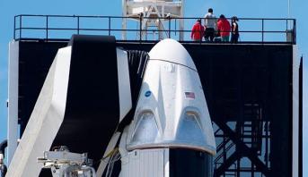 """""""سبايس اكس"""" ستنقل سياحا إلى محطة الفضاء الدولية"""