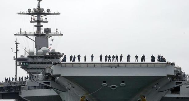 إسبانيا تقرر سحب فرقاطتها الحربية من مجموعة مرافقة لحاملة الطائرات الأمريكية