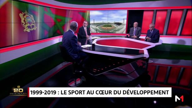 1999-2019: le sport au cœur du développement