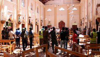 حصيلة تفجيرات أحد الفصح في سريلانكا ترتفع إلى 290 قتيلا وفرض حظر تجول ليلي