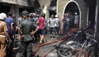 توقيف ثمانية أشخاص على صلة بالتفجيرات في سريلانكا
