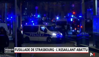 Fusillade de Strasbourg: l'assaillant abattu